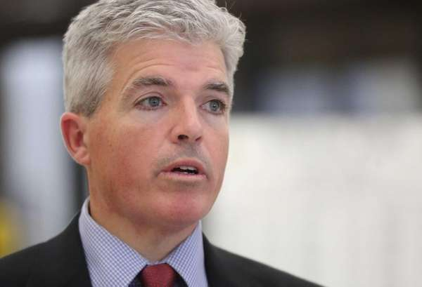 Suffolk County Executive Steve Bellone on Dec. 8,