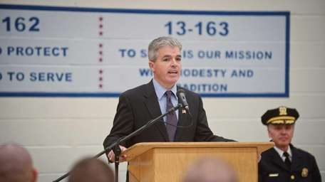 Suffolk County Executive Steve Bellone, seen here at
