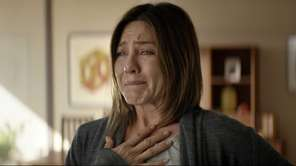 """Jennifer Aniston in a scene from """"Cake."""" Aniston"""
