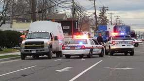 Nassau County Police responded to a pedestrian struck