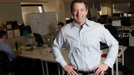 Mark Fasciano, managing director of Canrock Ventures, poses