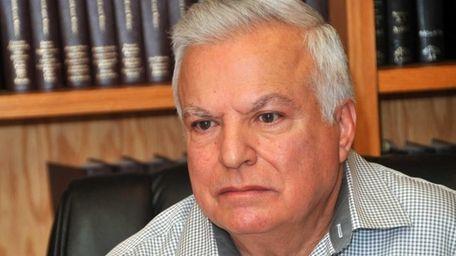 Angelo Ferrara, 66, of Floral Park, met with