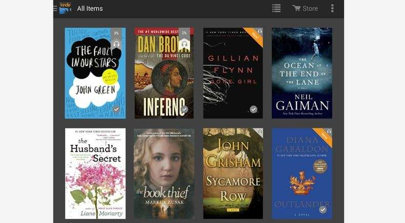 Turn your smartphone into a Kindle by downloading