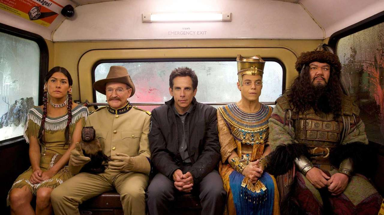 Mizuo Peck, Robin Williams, Ben Stiller, Rami Malek