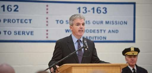 Suffolk County Executive Steve Bellone at the Suffolk