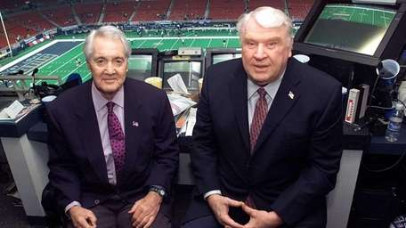 Pat Summerall and John Madden in the FOX