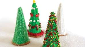 The Christmas tree cookies can be found in