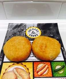 The potato knish is the signature item at