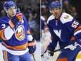 The Islanders' Travis Hamonic and Johnny Boychuk are