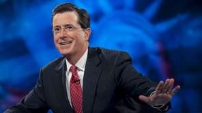 "Host Stephen Colbert during the ""Been There: Won"