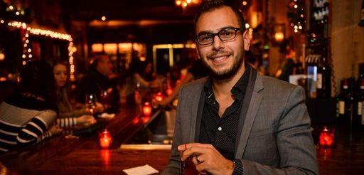 Adam Richichi, co-founder of the app BevySocial.com, at