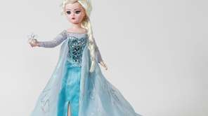 "A $5,000 ""Frozen"" Elsa doll is sold at"
