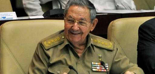 Cuba's President, Raul Castro, participates in the National