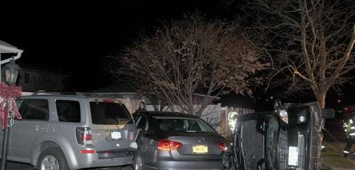 A Farmingdale man was charged with driving while