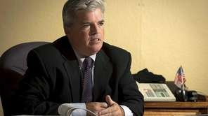 Suffolk County Executive Steve Bellone on Oct. 18,