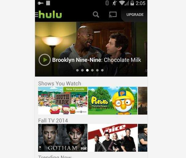 Many popular shows are available the day after