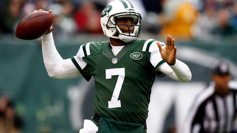 Quarterback Geno Smith #7 of the New York