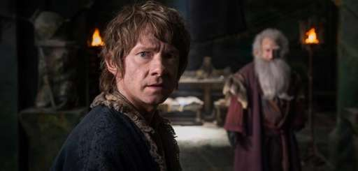 "Martin Freeman in ""The Hobbit: The Battle of"