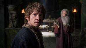 "Martin Freeman in ""The Hobbit: The Battle of"