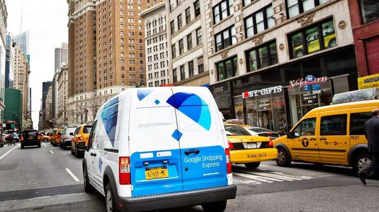 Google Express, a same-day package service from Google,
