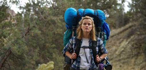 """Reese Witherspoon as Cheryl Strayed in """"Wild"""" directed"""