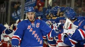Ryan McDonagh #27 of the New York Rangers