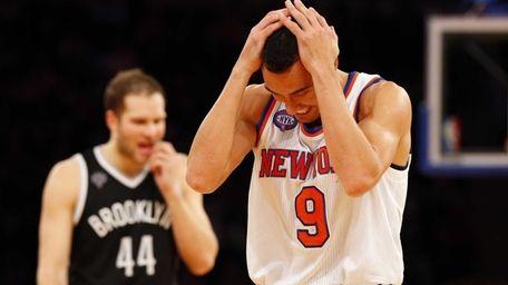 Pablo Prigioni #9 of the New York Knicks