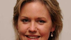Suffolk County legislator (6th district) Sarah Anker shown