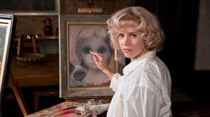 Amy Adams as painter Margaret Keane in