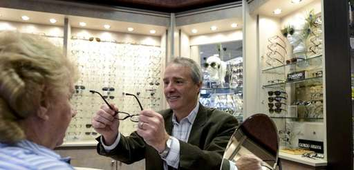 Joel Kestenbaum, an optometrist at Optix Family Eyecare