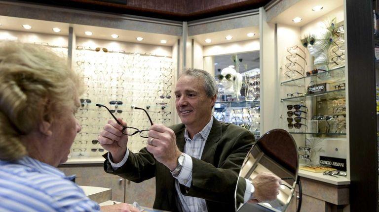 Joel Kestenbaum, an optometrist at Optix Family Eyecare