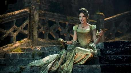 Anna Kendrick as Cinderella in Disney's