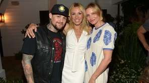 Musician Benji Madden, author Vicky Vlachonis, and actress