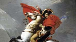 """Bonaparte Crossing the Alps by the Great Saint"