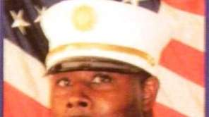 Joseph Sanford Jr., the critically injured Inwood firefighter