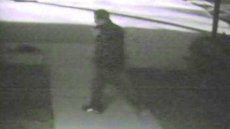 Investigators released a photo of a male suspect