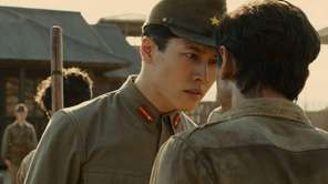 "Miyavi in a scene from ""Unbroken."""