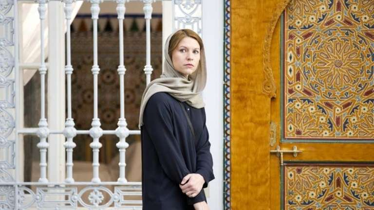 Claire Danes as Carrie Mathison in