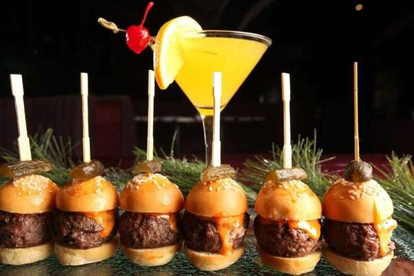 Delicious appetizers to serve for New Year's.