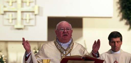 Bishop William Murphy leads Christmas mass at St