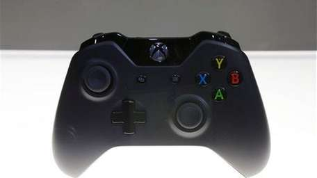 A controller for Microsoft Corp.'s Xbox One entertainment