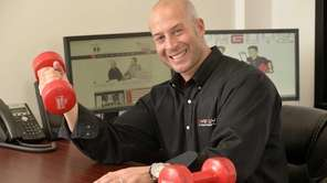 GYMGUYZ chief executive Josh York in his Plainview