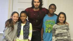 Actor and comedian, Russell Brand at Simon &