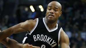 Brooklyn Nets' Jarrett Jack drives past Boston Celtics'