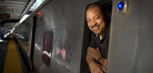 The first black senior locomotive engineer Gregory Clark,