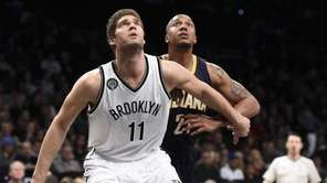 Brooklyn Nets center Brook Lopez and Indiana Pacers