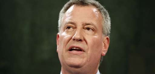 This file photo shows New York City Mayor