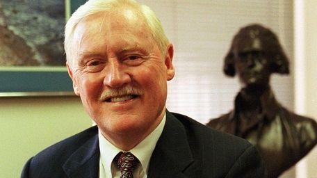 Former state Sen. Owen Johnson, of West Babylon,