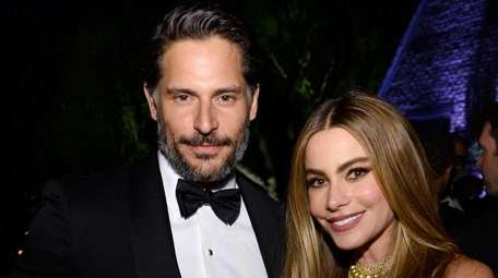 Joe Manganiello and Sofia Vergara at the Bloomberg