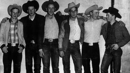 This undated photo provided by the N.D. Cowboy